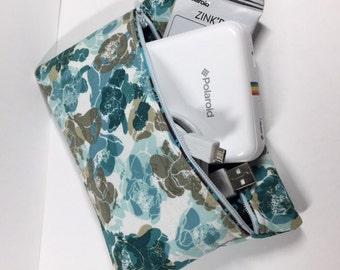 100% Cotton Zipper Pouch for Polaroid Zip Printer