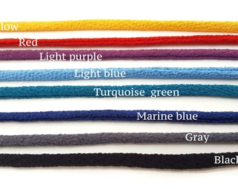 Polyester Chirimen Cord - 1m long / 5mm diameter