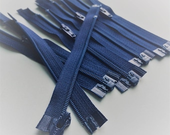 3mm Nylon Coil YKK Separating Zippers Color 131 Dandelion - 5pcs - Available in 5 and 10 Inches