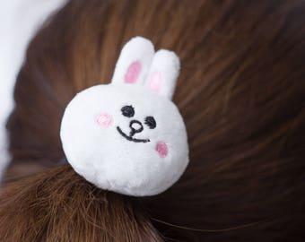 Bunny Rubber Band Stuffed Animal Accessory