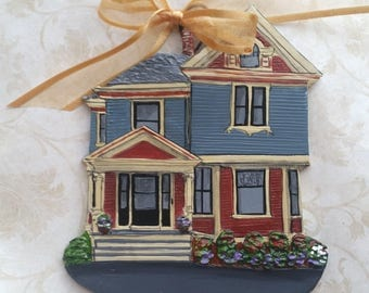 Custom Listing for BethanyS.- one Custom House Ornament- a cherished keepsake of your home