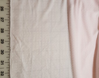 "Pink Stripe Nylon Tricot type BTY 70"" wide"