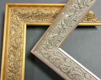 14x 18 to 20 x 24 Vintage ,Ornate, Antique, Picture Frames, photo frames, art, wedding, gold , silver
