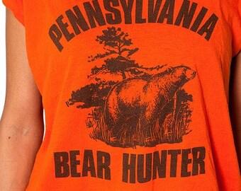 30% off SPRING SALE The Vintage Pennsylvania Bear Hunter Super Soft 50/50 Tee