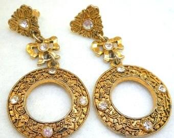 Dangly EB Earrings