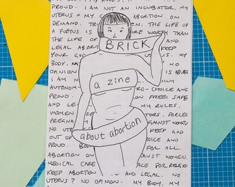 Brick: a zine about abortion