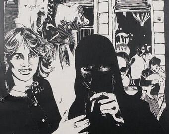 Smoking a Cigarette through the Veil of a Niqab
