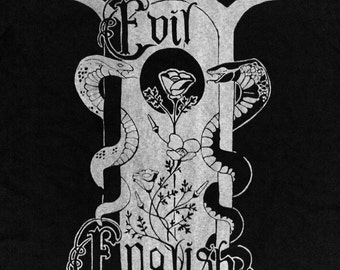 Evil English Screen Printed T-shirts