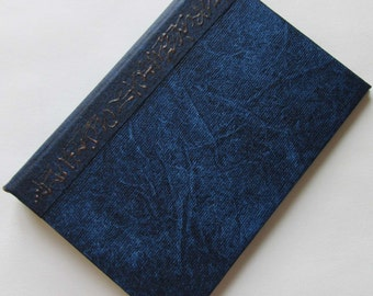 Refillable Journal Handmade Distressed Indigo blue Original 6x4 navy traveller notebook