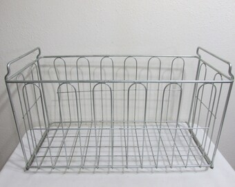 Wire Basket 2 Handle Tote Carry or Organize
