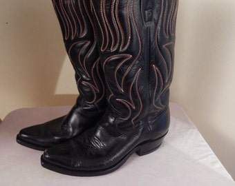 western boots, womens size 9, cowboy boots