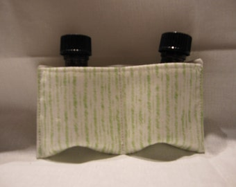 Essential oil take along, doTerra oils, young living oils, aromatherapy oils travel pouch