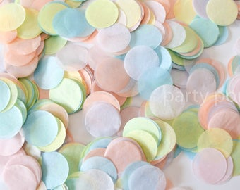 Pastel Rainbow Confetti mix