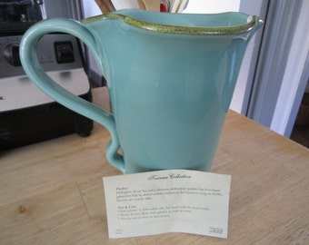 Southern Living At Home Toscana Pitcher