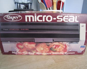 NOS Dazey Micro-Seal Microwave Cooking System