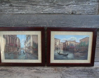 Pair of Venice, Italy Wall Picture