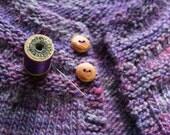 Hemlock Wood Buttons- Handmade Wooden Buttons- Eco Knitting Supplies, Eco Craft Supplies