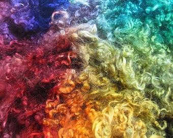 Dio - Hand Dyed Wensleydale Columbia Locks