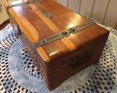 Pirates Booty Box / Rustic Rough / Large Cedar Box