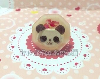 Panda Jewel Ring