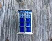 Doctor Who Drawer knobs - Tardis Cabinet Knobs  - Dr. Who Furniture Knobs (MK169)