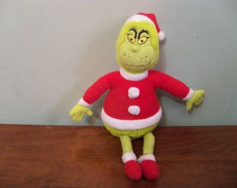 the grinch stuffy