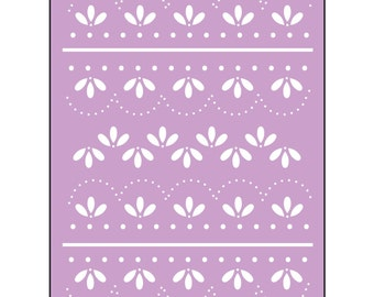 Sizzix Eyelet Lace Embossing Folder by Eileen Hull