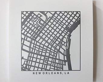New Orleans or Atlanta pressed prints