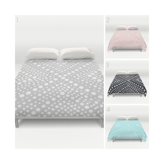 Gray Duvet Cover . Blush Pink duvet cover . Black and white duvet cover . queen duvet cover . king duvet cover . Twin XL bedding set