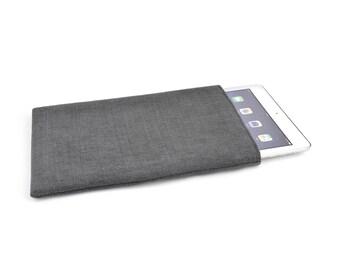 iPad Pro 10.5 case, iPad Pro 10.5 cover, iPad Pro 10.5 sleeve, iPad Pro (2017) natural linen iPad cover