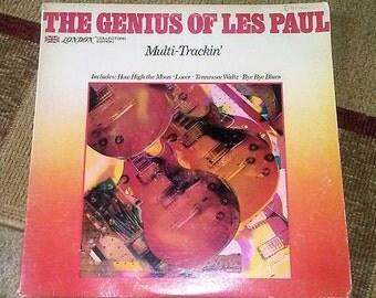1979 The Genius of Les Paul Record Album