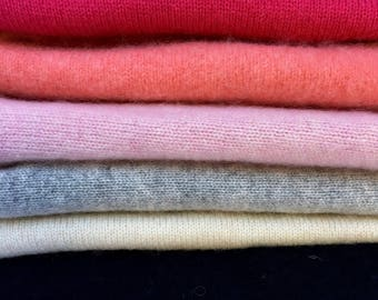 Cashmere Sweater Fabrics, Great for Crafting