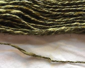 Moss Greens - New York City ThinThick Cotton Linen Viscose Naturgarne Yarn 50gr 98y