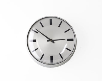 Modern Simplex Wall Clock .03 - Vintage Industrial Decor - Thick Frame