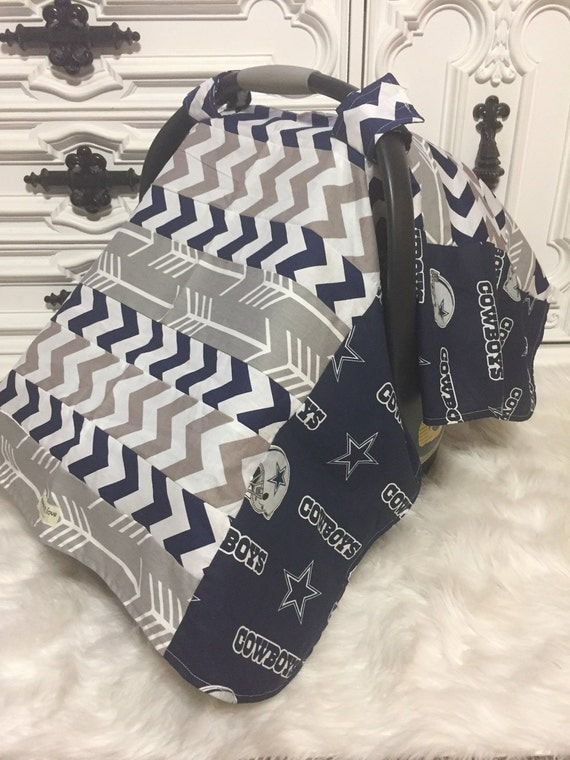 Car seat cover Dallas Cowboys / Car seat cover / car seat canopy / carseat cover / carseat canopy / nursing cover