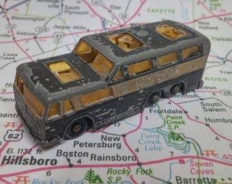 Vintage Matchbox Series No 66 Coach Greyhound Bus 1960s