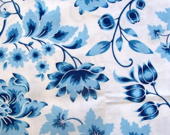Sweet Tea by Thistlewood Farms Delft for Hoffman Fabrics - 1 Yard, 1/2 Yard, and Fat Quarters                           05/2017