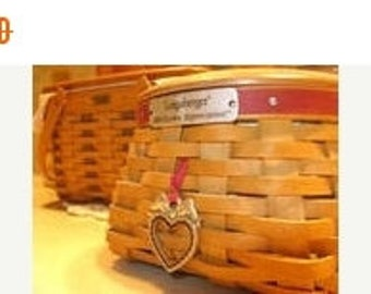 Gorg Longaberger Valentines Set --New Cond