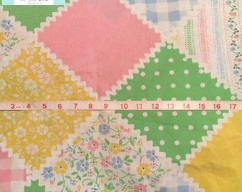 Vintage Ric Rac Floral Pillowcase