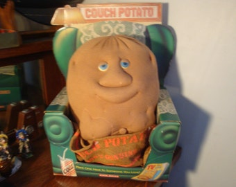 Vintage COUCH POTATO stuffed plush toy Coleco Robert Armstrong