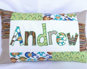 Monkeys - Personalized Pillow