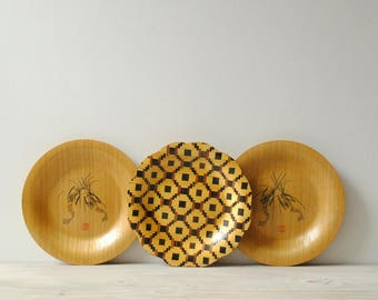 Chinese Decorative Bamboo Plates
