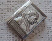 Vintage Rosary Case Pope John the 23rd