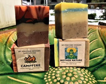 handmade soap with HEMP SEED OIL