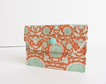 Tilda 'Bumble Bee' Small Snap Wallet