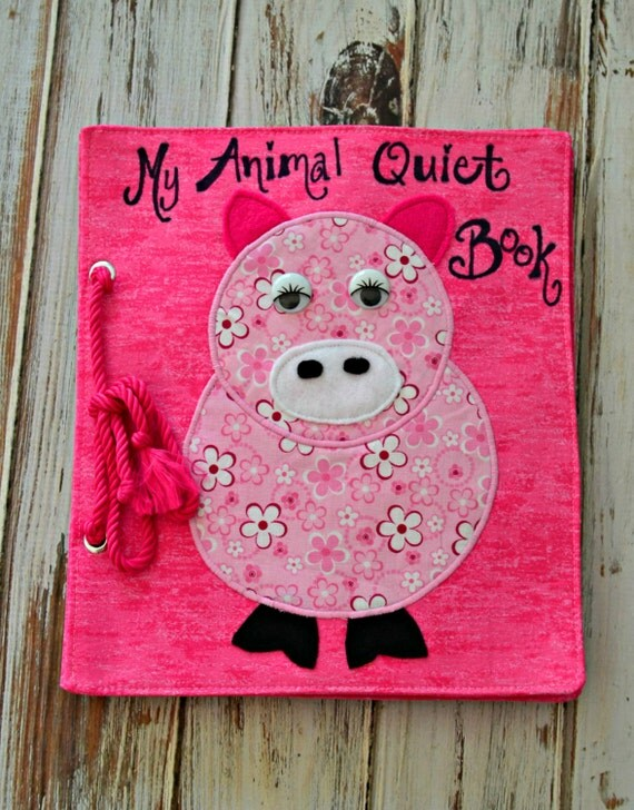 Animal Quiet Book