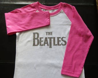 Beatles Shirt Beatles Kids Shirt Kids Shirt The Beatles Shirt The Beatles Ready To Ship Size Size  Size XS 4/5