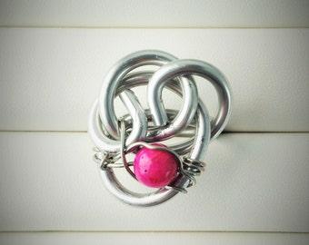 Modern Aluminum Ring