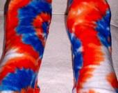 Fleece Socks, Colorful Warm Fleece Socks, Women's Warm Handmade Socks, Soft Bed Socks, Handmade Gift for Senior Citizens, Ladies warm Socks