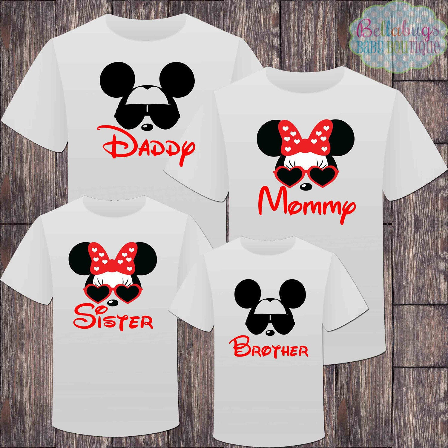 b49ac25b21fbc Mickey With Sunglasses Shirt | CINEMAS 93